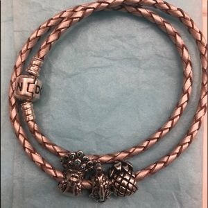 Authentic Pandora bracelets and charms